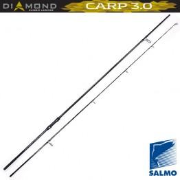 Удилище карповое SALMO Diamond Carp 3.0, углеволокно, 3.60 м, тест: 3.0 Lbs , 340 г